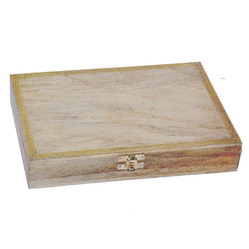 Wooden Handicraft Jewellery Box and Wedding Card Box