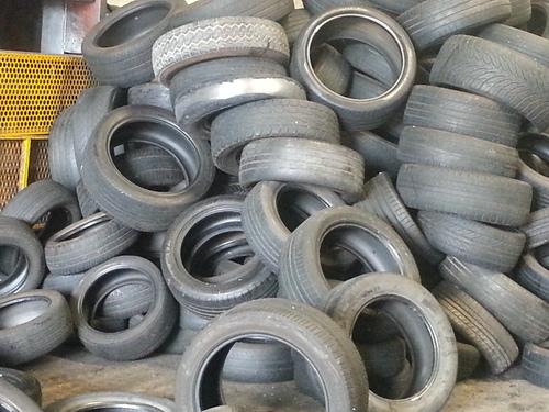 Used Scrap Car Tyres