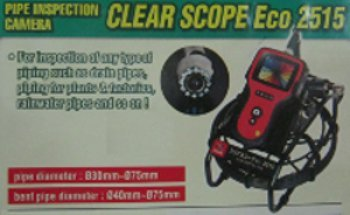 Pipe Inspection Camera Clear Scope Eco 2515