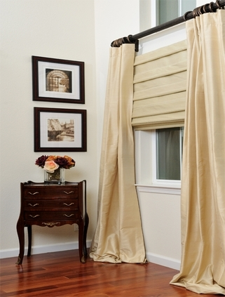 Soft Fold Roman Shade Curtains in  Kalyan Nagar
