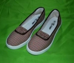 Canvas Ladies Shoes in   Baridhara