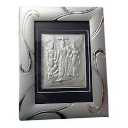 Silver God Photo Frame