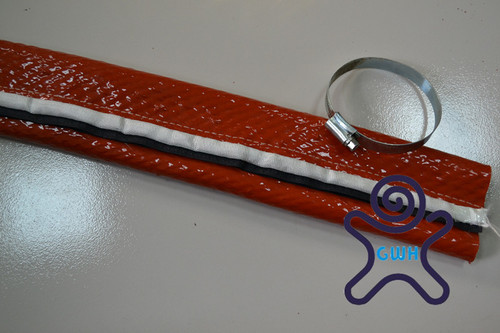 Fiber Glass Sleeve Coated With Silicone Sleeve