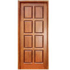 Wooden sagwan door in chandrapuri bareilly cantonment for Readymade teak wood doors hyderabad