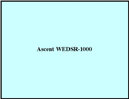 Ascent WEDSR-1000