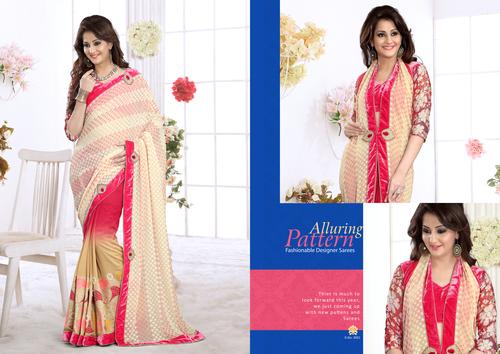 Heavy Designer Saree in  Millenium Textile Market (Rr)
