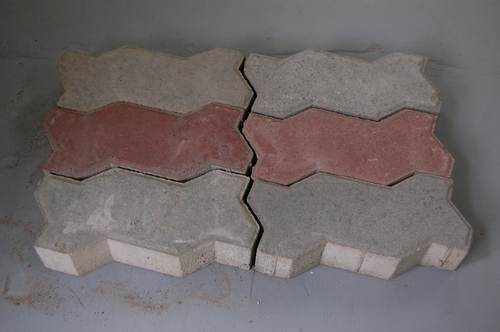 Zig Zag Paver Blocks