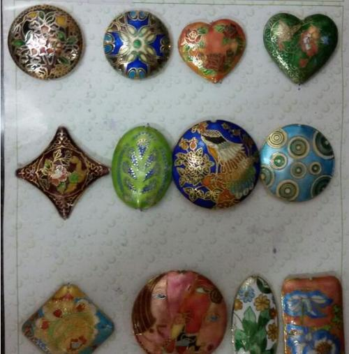 Meena Carved Beads (Art No.13) in  Malad (W)