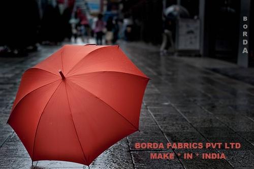 Printed 100% Polyester Taffeta Coated Umbrella Polyester Fabrics