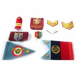 Car Flag And Pocket Badge