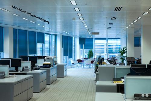 Office Interiors Decoration Service, Corporate Building Interior ...