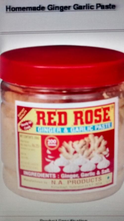 Farm Fresh Red Rose Ginger Garlic Paste