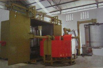 Bi-Axial Rotomoulding Machine