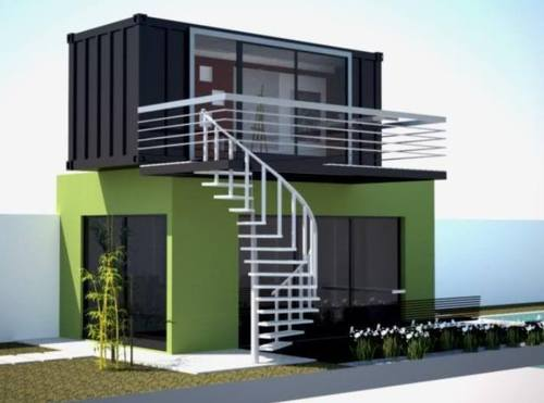 20ft 40ft shipping container hotel in thailand chiang mai for 3 40 ft container home