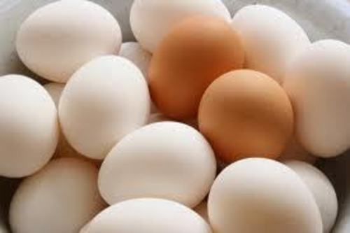 Farm Fresh Chicken Table Eggs And Brown Shell Chicken Eggs