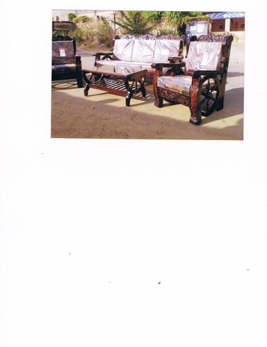 Wooden Sofa Set in   Ambewadi