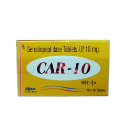 Serratiopeptidase Tablets I.P 10mg in   Near Bhawartal Garden
