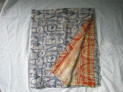 Silk Kantha Scarf in  Amer Road (Ar)