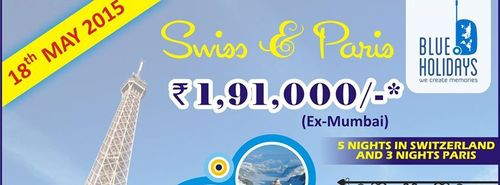 Swiss and Paris Tour Packages Services