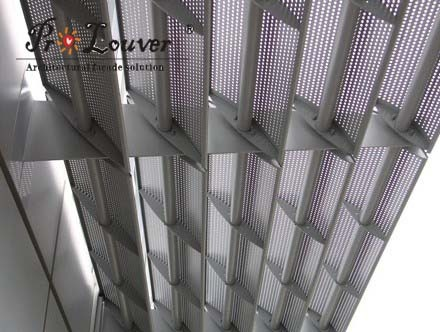 Aerowing Perforated Solar Control Louver