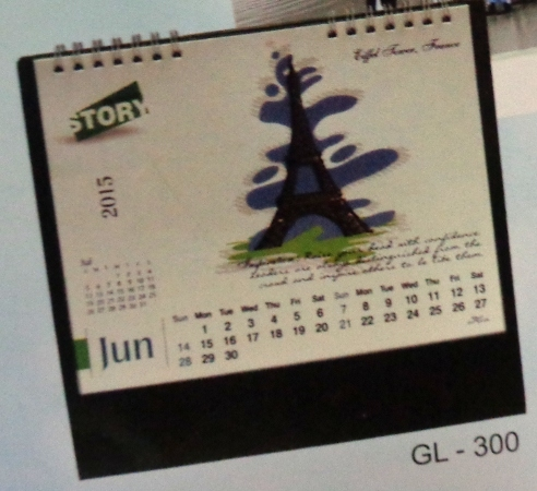 Desk Calendar (GL - 300)