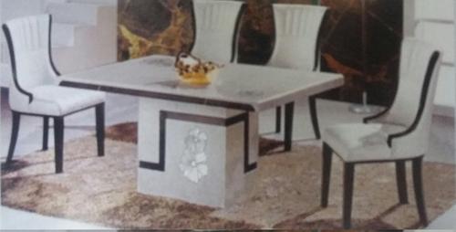 Imported Dining Table Set In Furniture Block Kirti Nagar