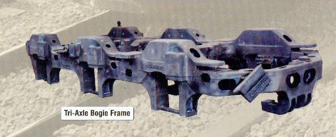 Tri Axle Bogie Frames in  Masjid Moth