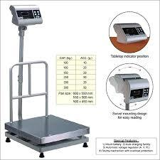Platform Weighing Scale in   Dhimrapur Chowk