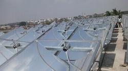 Solar Parabolic Trough in  Cherlapally