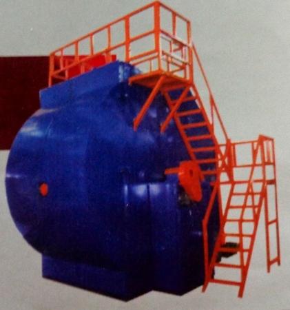 Rotational Moulding Machine in   At Dawalwadi