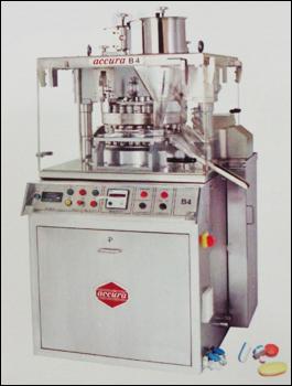 Accura B4 Type Square GMP Single Rotary Tablet Press Machine
