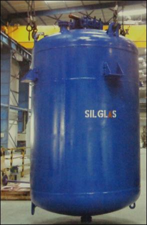 Mild Steel Glasslined Storage Tanks (Vertical)