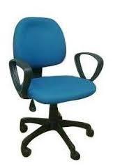 Adjustable Revolving Chair in  Black Burn Lane