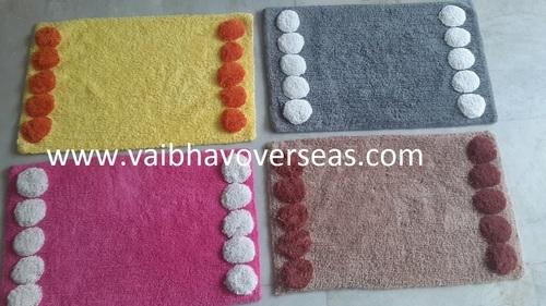 Cotton Tufted Bath Rugs