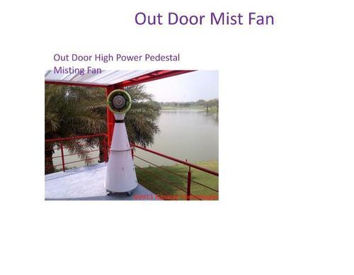Outdoor High Power Pedestal Misting Fan