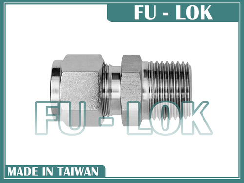 Durable Taiwanese Tubes-Lok Compression Tube Fitting