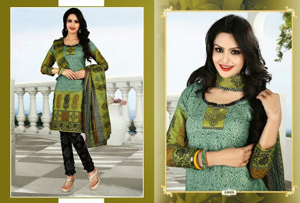 Cotton Printed Suits in  Begampura