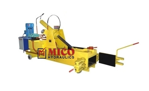 Industrial Scrap Hydraulic Baling Press