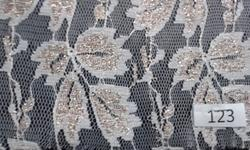 Fine Quality Dyeable Floral Net Fabric