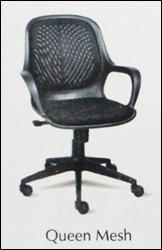 Queen Mesh Revolving Office Chair
