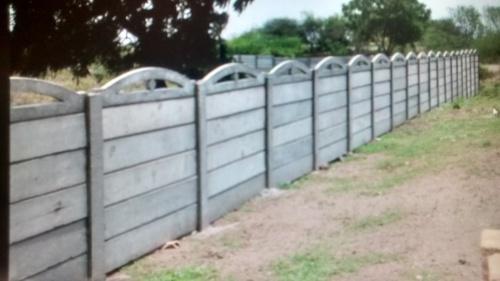 Prefabricated Compound Wall : R c folding compound wall in vadodara gujarat maruti