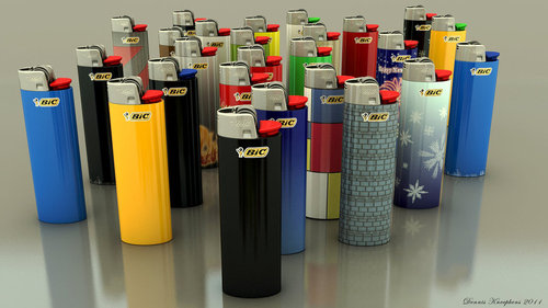 Refillable Big Bic Lighters