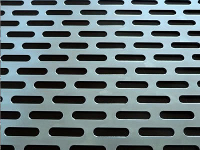 Slotted Hole Stainless Steel Perforated Sheets