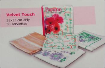 Velvet Touch Paper Napkin in  7-Sector - Rohini