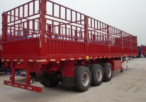 3 Axles Cargo With Sidewall Semi-Trailer