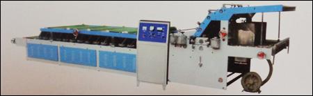 Semi - Auto Flute Laminator Machine