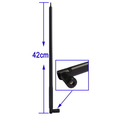 22 dBi Wireless WiFi Antenna High Gain Booster WLAN RP-SMA Omni Directional