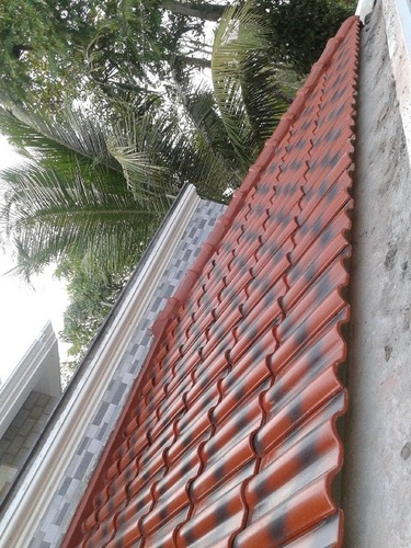 China Ceramic Roof Tiles In Ev Trading Company