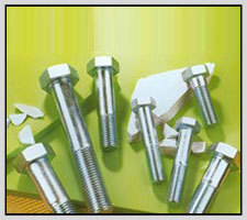 High Tensile Hex Bolts (White Zinc Plated) in  Industrial Area - A