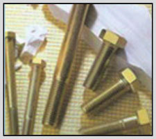 High Tensile Hex Bolts (Yellow Zinc Plated) in  Industrial Area - A